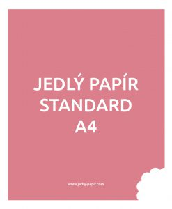 Jedlý papír - standard A4
